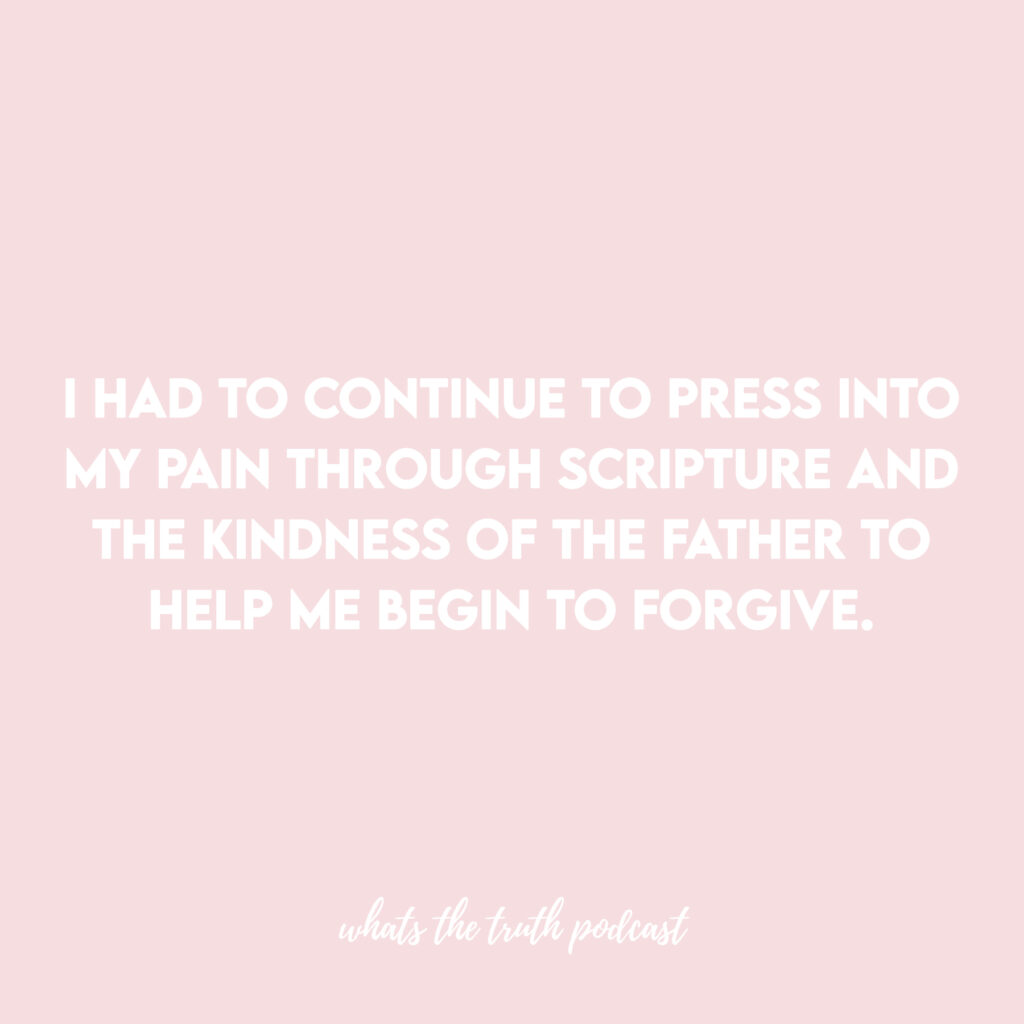 learning to forgive yourself and move on